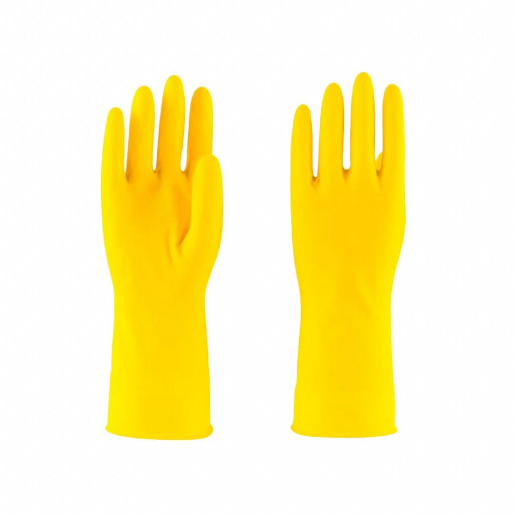 Luva de látex amarela LTX 600 Safe Park