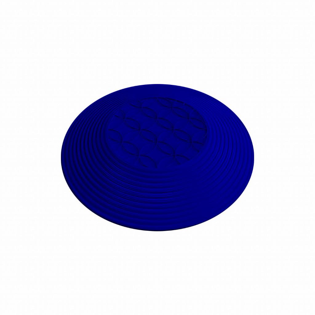 Piso Tátil Elemento de Alerta - PVC Azul Safe Park