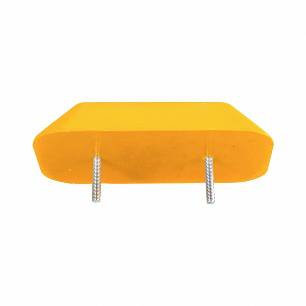 Tachão bidirecional amarelo (Fixação) Safe Park