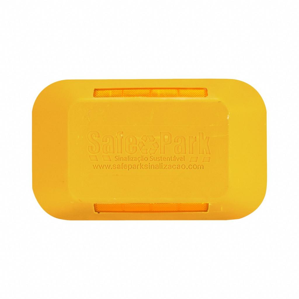 Tachão bidirecional amarelo (Refletivo âmbar/âmbar) Safe Park