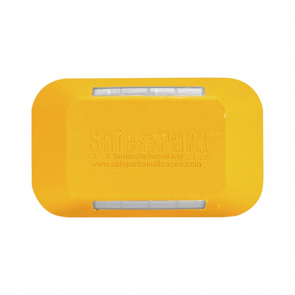 Tachão bidirecional amarelo (Refletivo branco/branco) Safe Park