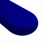 Piso Tátil Elemento Direcional - PVC Azul Safe Park