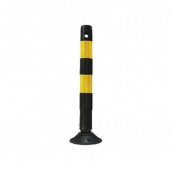 Balizador Flex 94cm – Preto/Amarelo