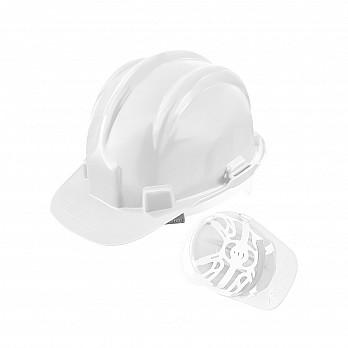 Capacete PLT c/ selo Inmetro – Branco C.A. 31469