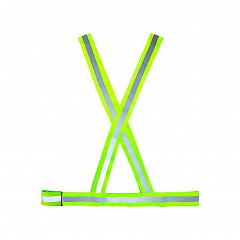 Colete X - Verde com refletivo