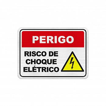 Cuidado Risco de Choque Elétrico