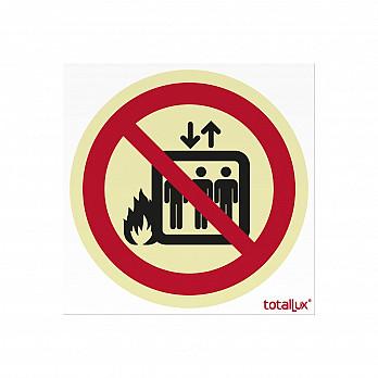 Em caso de Incêndio não Use o Elevador (Cód. P004.00)