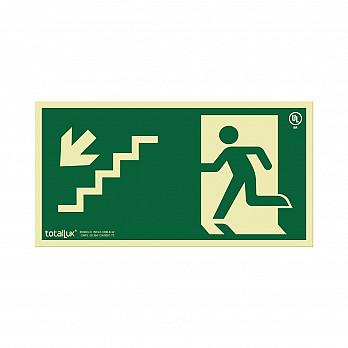 Escada Desce a Esquerda (Cód. S009.01)