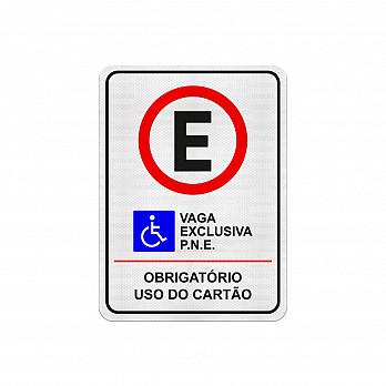 Estacionamento Exclusivo para PNE