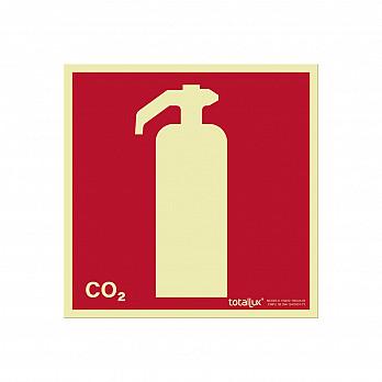 Extintor CO2 (Cód. E005.05)