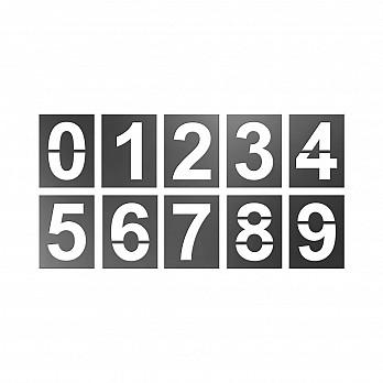 Forma p/ Pintura de Números (Stencil)