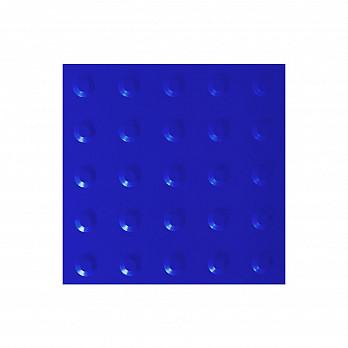 Piso Tátil Alerta 25x25cm – Azul