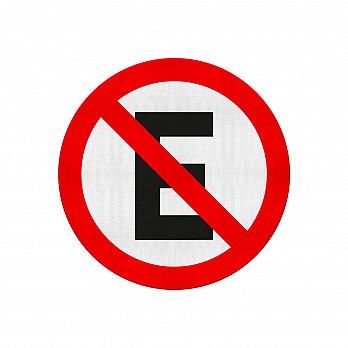Proibido Estacionar (Cód. R-6a)