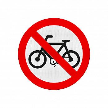 Proibido Trânsito de Bicicletas (Cód.R-12)