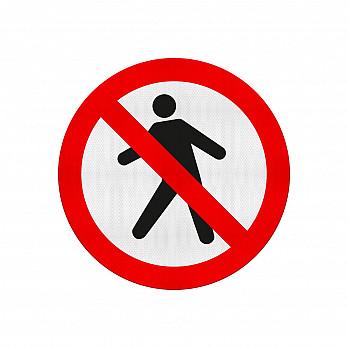Proibido Trânsito de Pedestres (Cód. R-29)