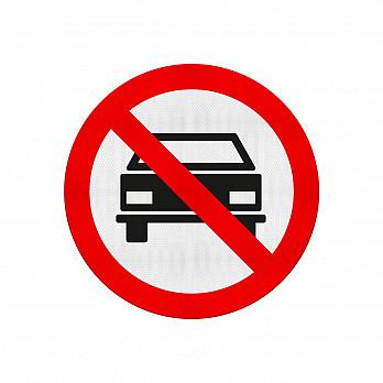 Proibido Trânsito de Veículos Automotores (Cód. R-10)