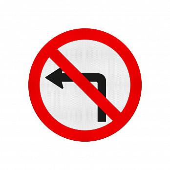 Proibido Virar à Esquerda (Cód.R-4a)