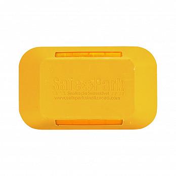 Tachão Amarelo Bidirecional - 25x15x5cm