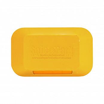Tachão Amarelo Monodirecional  - 25x15x5cm