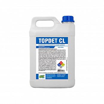 TOPDET CL 5L - DETERGENTE ALCALINO CLORADO