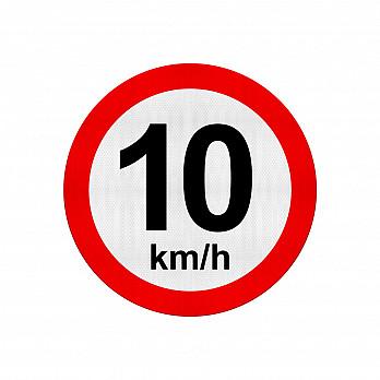 Velocidade Máxima 10Km/h