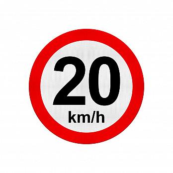 Velocidade Máxima 20Km/h