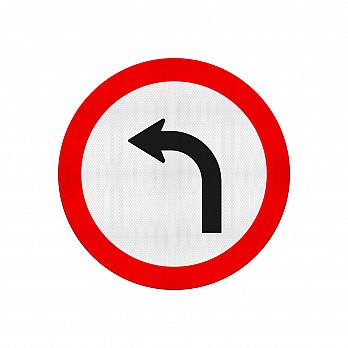 Vire à Esquerda (Cód.R-25a)